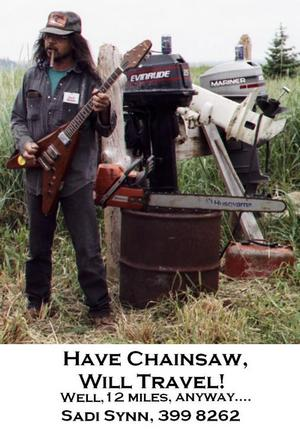 Photo of Sadi Synn and Chain Saw
